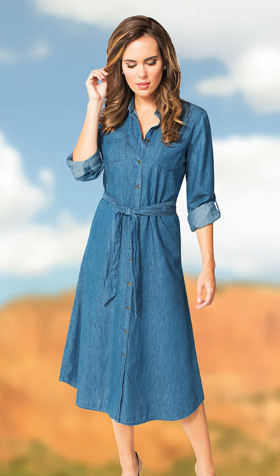 Denim Weekender Dress