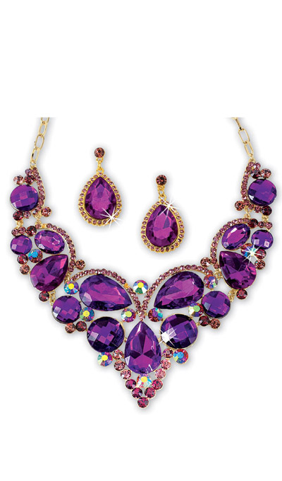 Dazzling Royal Jewellery Set