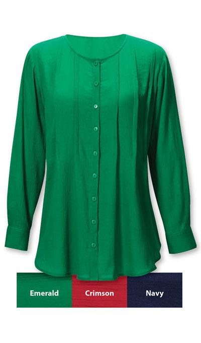 Long Sleeve Fabulous Tunic Top