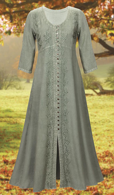 Alluring Acid-Washed Dress