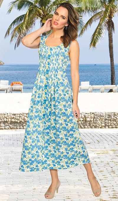 Pintuck Garden Dress