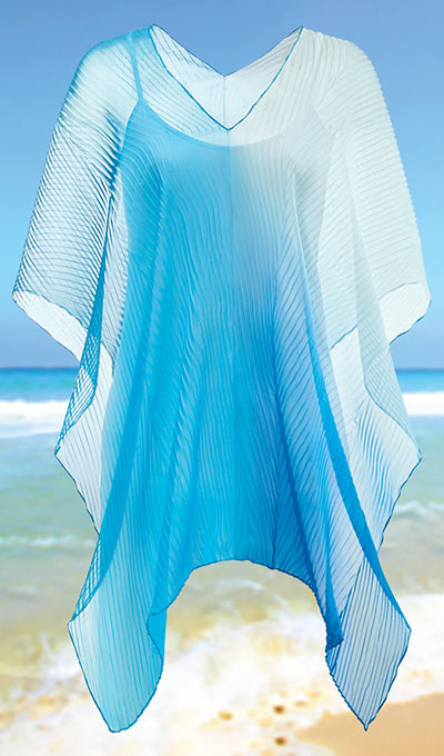 Sheer Ombré Cover-Up