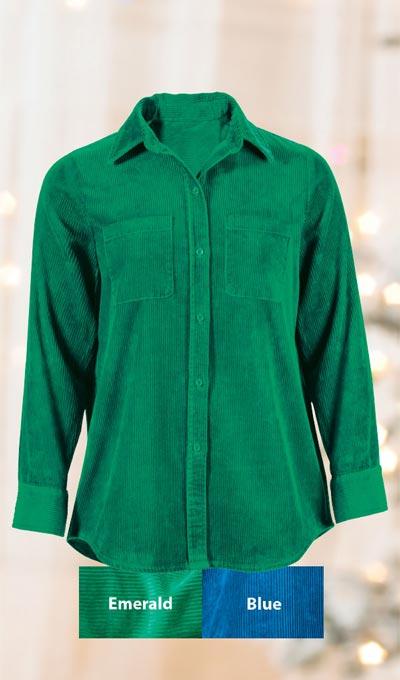 Classic Corduroy Shirt