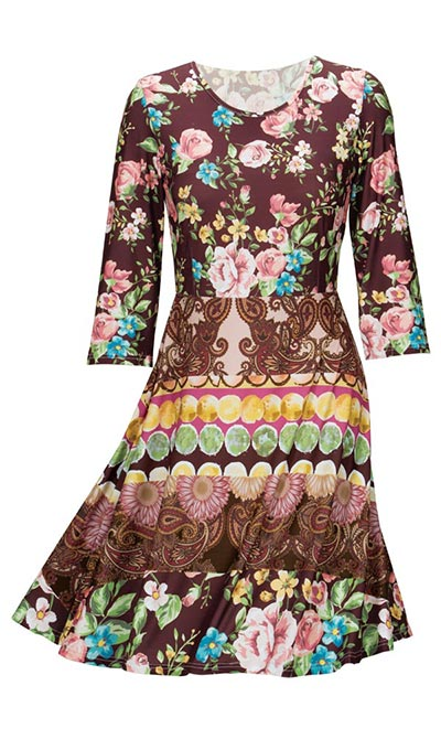 Vintage Patch Dress