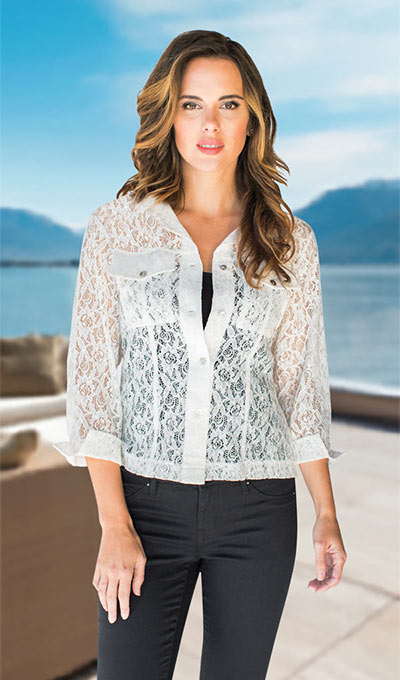 The Perfect Lace Jacket