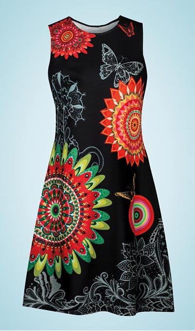 Vivid Blooms Dress