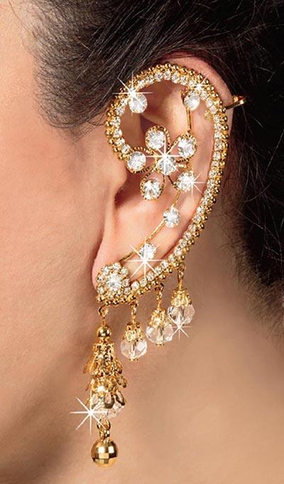 Exotic Cuff Earrings