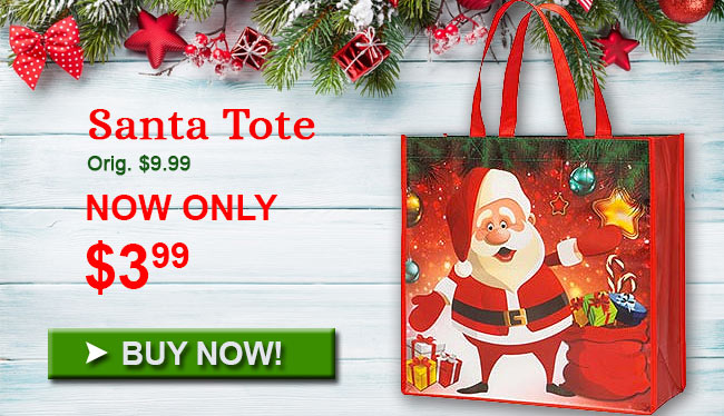 Santa Tote