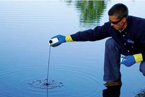 Pond Colorant & Water Clarifiers