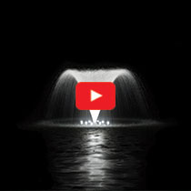 PondSeries™ 1/2 HP Fountain - Classic Spray Pattern