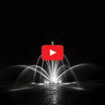 PondSeries™ 1/2 HP Fountain - Double Arch & Geyser Spray Pattern