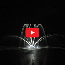 PondSeries™ 1/2 HP Fountain - Double Arch Spray Pattern