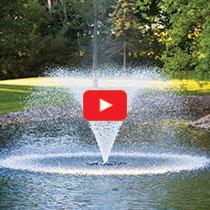 PondSeries™ 1 HP Fountain - Classic Spray Pattern