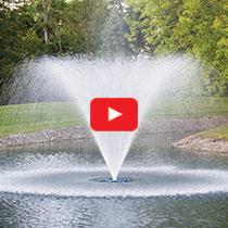 PondSeries™ 2 HP Fountain - Classic Spray Pattern