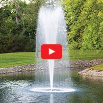 PondSeries™ 2 HP Fountain - Trumpet Spray Pattern