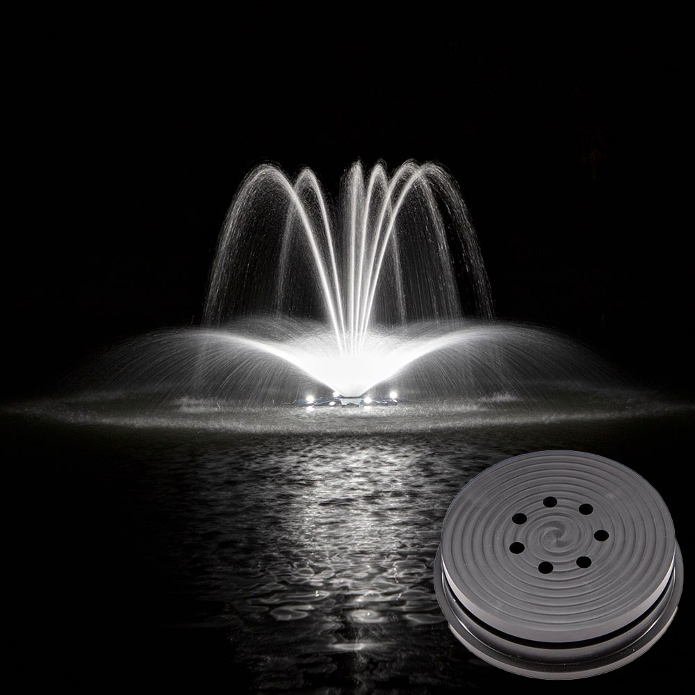 Airmax® Crown and Arch Premium Fountain Nozzle