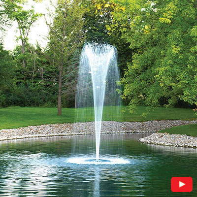 EcoSeries Trumpet Fountain