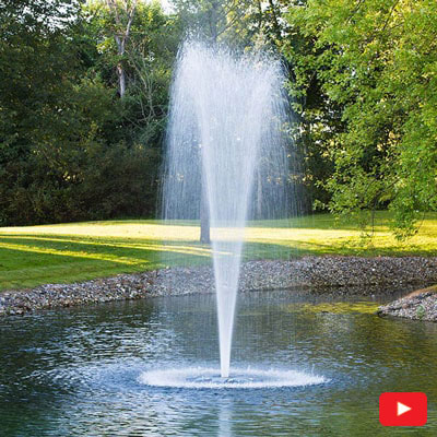 PondSeries Trumpet Fountain 1 HP
