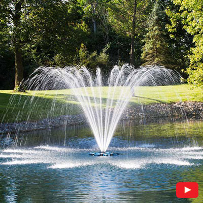 PondSeries Single Arch Fountain 2 HP
