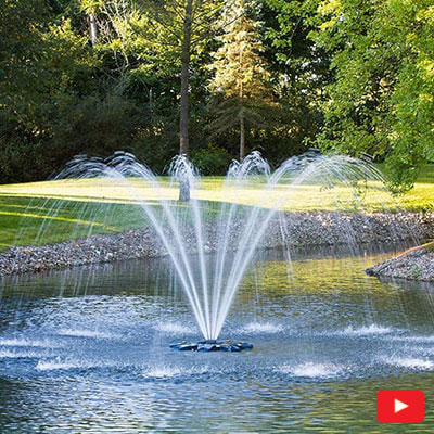 PondSeries Single Arch Fountain 1 HP