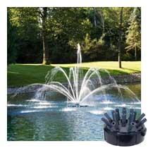 Airmax<sup>®</sup> Double Arch & Geyser Premium Fountain Nozzle