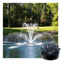 Airmax<sup>®</sup> Double Arch Premium Fountain Nozzle