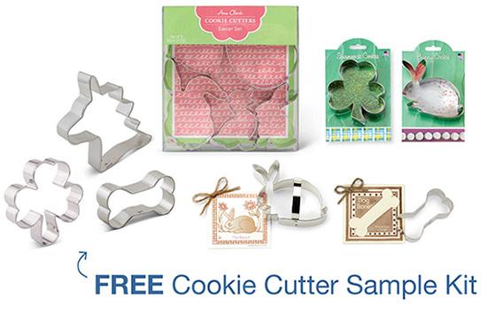 Free Cookie Cutter Sample Kit