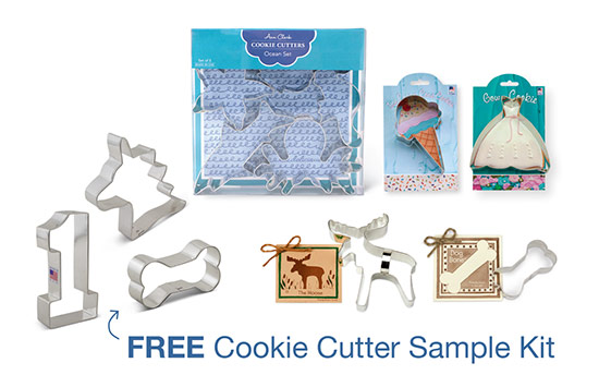 Free Cookie Cutter Sample Kit