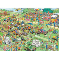 Lawn Mower Race 1000 Piece Jigsaw Puzzle