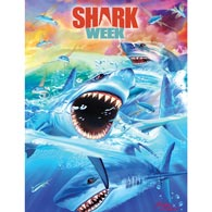 Shark Week 100 Large Piece Jigsaw Puzzle