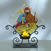 Nativity Tea Light