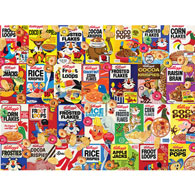 Retro Cereal Boxes 1000 Piece Jigsaw Puzzle