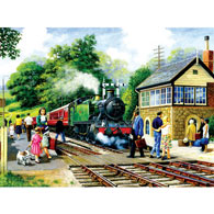 Country Station 1000 Piece Jigsaw Puzzle