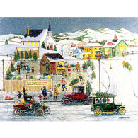 The Christmas Tree Lot 500 Piece Jigsaw Puzzle