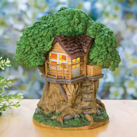 Solar Treehouse Statue
