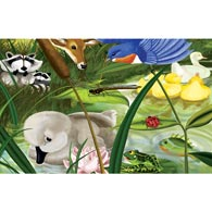 The Ugly Duckling 100 Large Piece Jigsaw Puzzle