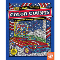 Color Counts Travel USA Book