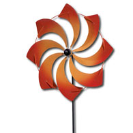 Red Pinwheel Stake