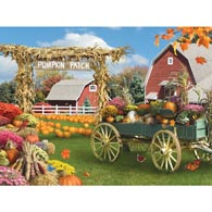 Pumpkin Patch 500 Piece Jigsaw Puzzle