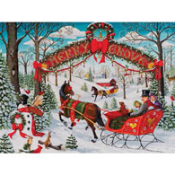 Merry Grove 300 Large Piece Jigsaw Puzzle