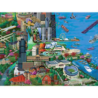 Chicago 1000 Piece Jigsaw Puzzle