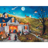 Night Of The Owl 300 Large Piece Jigsaw Puzzle