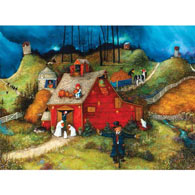 Uncle Brucie's Barn 1000 Piece Jigsaw Puzzle
