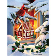 Gingerbread House 1000 Piece Jigsaw Puzzle