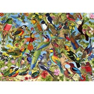 Fantastic Birds 1500 Piece Jigsaw Puzzle