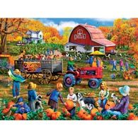Autumn Festival 300 Large Piece Jigsaw Puzzle