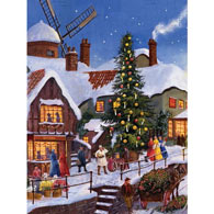 Carols By The Christmas Tree 500 Piece Jigsaw Puzzle