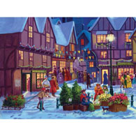Preparing For Christmas 500 Piece Jigsaw Puzzle