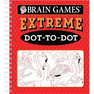 Brain Games Extreme Dot-To -Dot Book