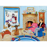 The Perfect Snow Day 300 Large Piece Jigsaw Puzzle